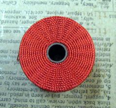 S- Lon bead cord - Shanghai Red, 1 rulle
