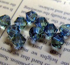 Swarovski crystals Bicone (5328) - Provence Lavender Chrys Blnd 4mm, 10- pack
