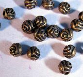 Mellandel Brons - Liten ros 20- pack