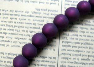 Polaris Beads - Amethyst 8 mm, 1 sträng